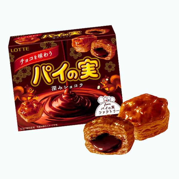 Lotte Pie No Mi Chocolate Ajiwa