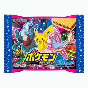 Lotte Pokemon Chocolate Wafer