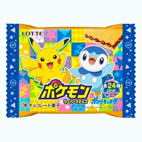 Lotte Pokemon Chocolate Wafer Variation 2