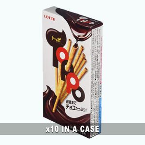 Lotte Toppo Chocolate 10 in a case