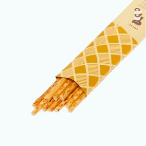 Lotte Toppo Salty Vanilla open pack