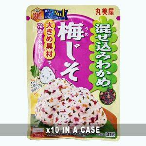 Marumiya Furikake Umejiso 10 in a case