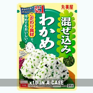 Marumiya Furikake Wakame 10 in a case