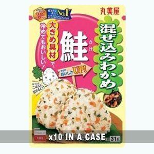 Marumiya Furikake Wakame Salmon 10 in a case