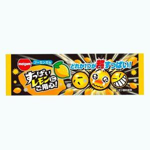 Meigum Bubble Gum Sour Lemon