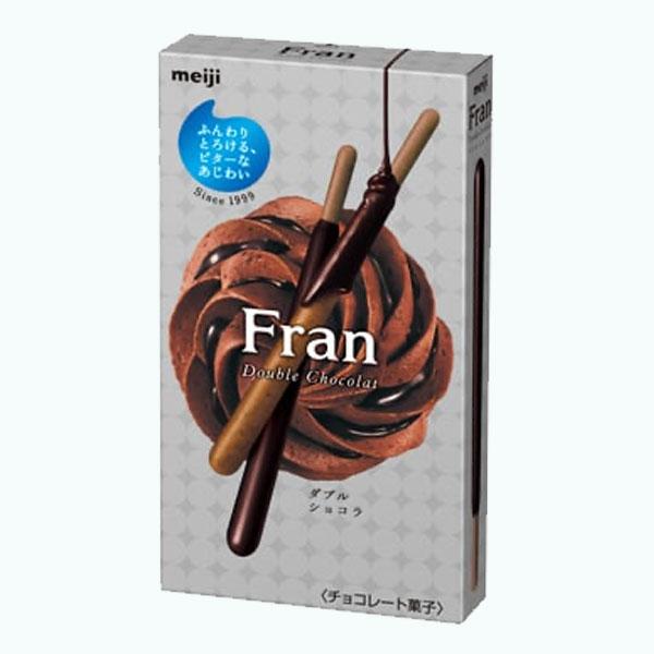 Meiji Fran Double Chocolate Sticks