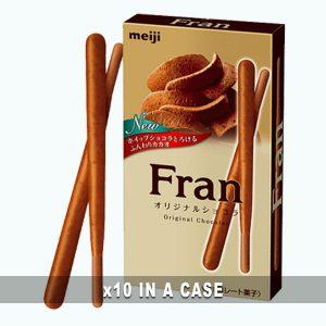 Meiji Fran Original Chocolate 10 in a case