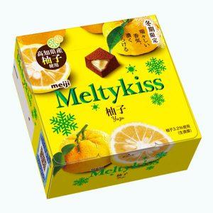 Meiji Meltykiss Yuzu Chocolate