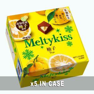 Meiji Meltykiss Yuzu Chocolate 5 in a case