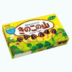 Meiji Milk Chocolate Kinoko