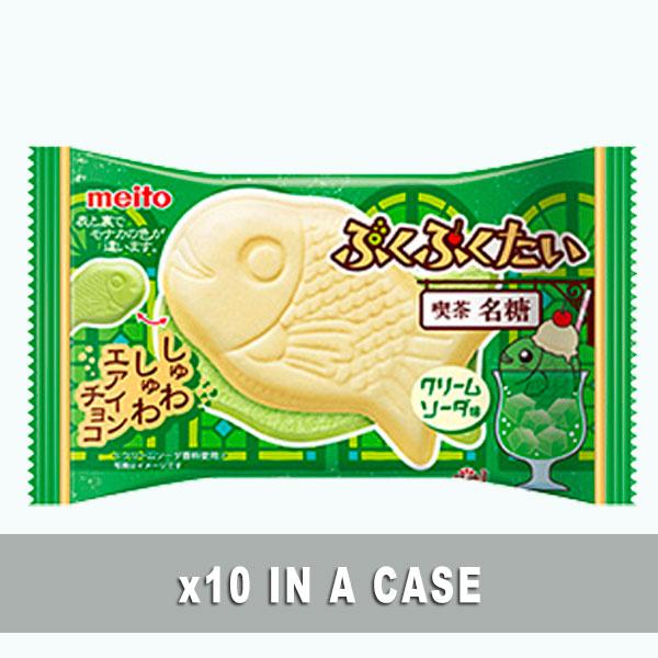 Meito Puku Puku Cream Soda 10 in a case