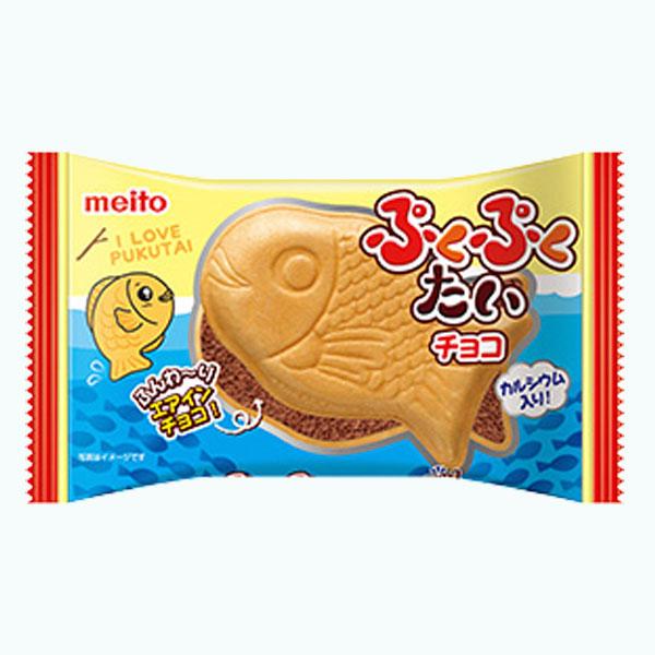 Meito Puku Puku Tai Chocolate