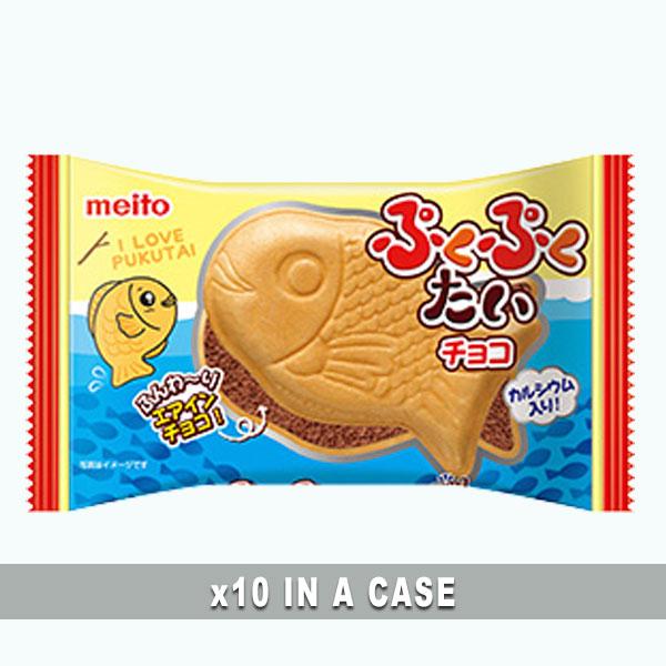 Meito Puku Puku Tai Chocolate 10 in a case