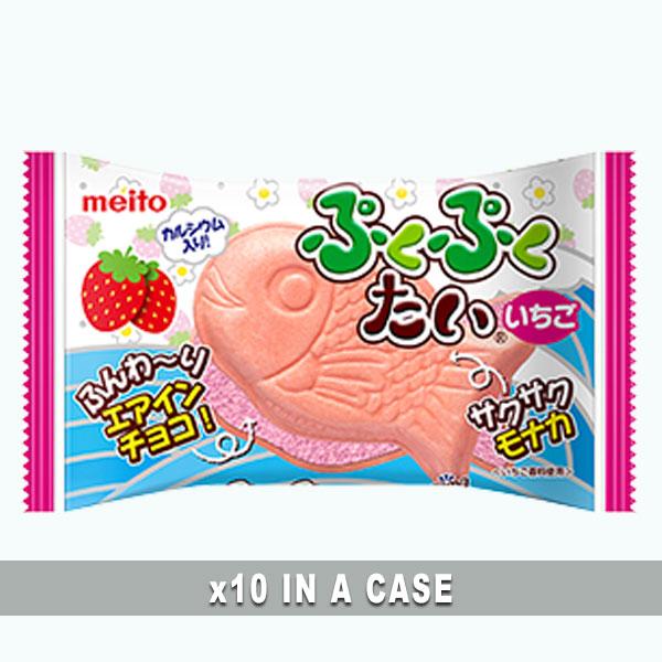 Meito Puku Puku Tai Strawberry 10 in a case