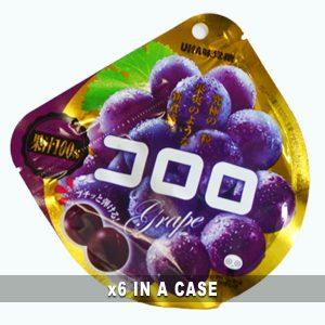 Mikakuto Cororo Gummy Grape 6 in a case