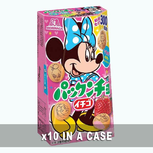 Morinaga Pakkuncho Strawberry 10 in a case