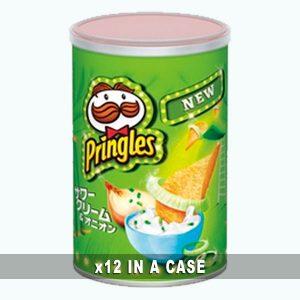 Morinaga Seika Pringles Sour Cream Onion 12 in a case