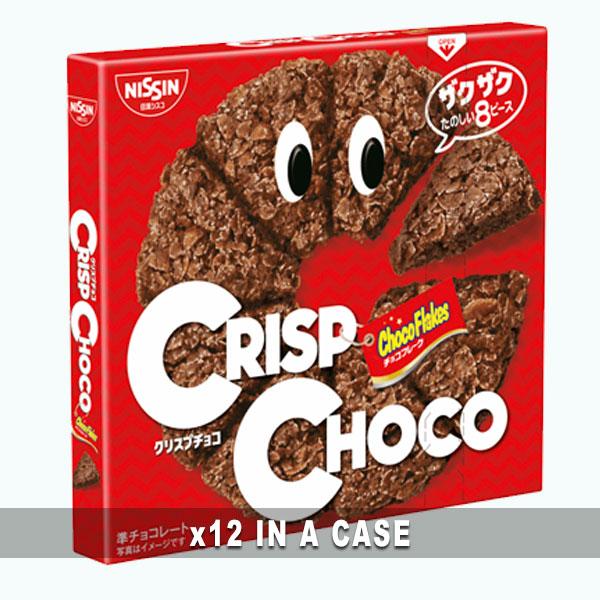 Nissin Crisp Chocolate 12 in a case