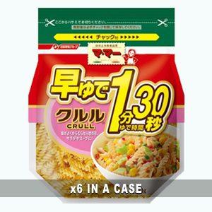 Nissin Crull Macaroni 6 in a case