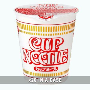 Nissin Cup Noodle 20 in a case
