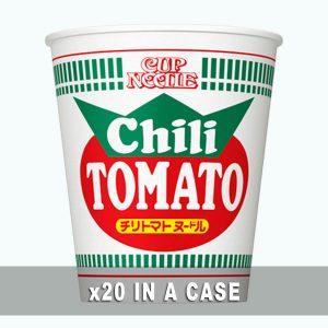 Nissin Cup Noodle Chili Tomato 20 in a case