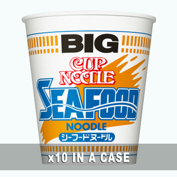 Nissin Cup Noodle Seafood 10 in a case