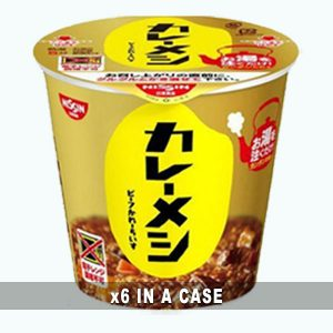 Nissin Curry Meshi Beef 6 in a case