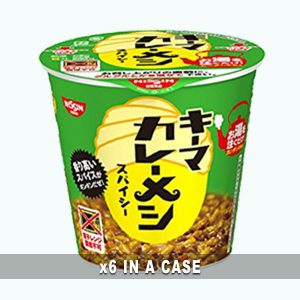 Nissin Curry Meshi Keema 6 in a case