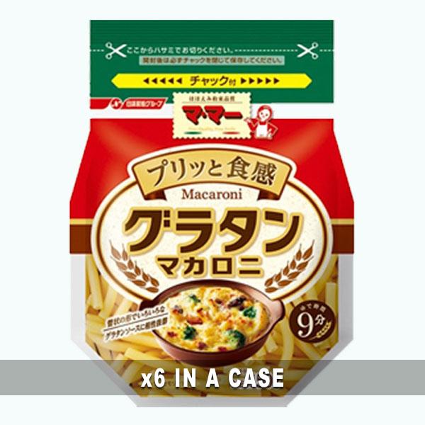 Nissin Gratin Macaroni 6 in a case