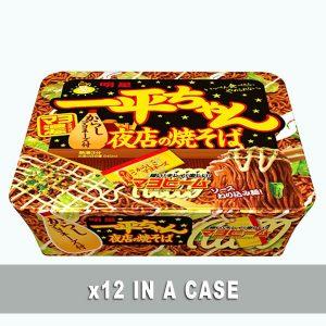 Nissin Ippeichan Yakisoba Karashi 12 in a case