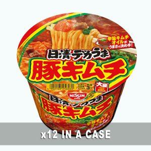 Nissin Pork Kimuchi 12 in a case