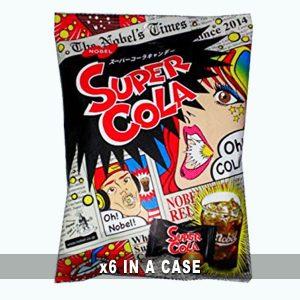 Nobel Super Cola Candy 6 in a case