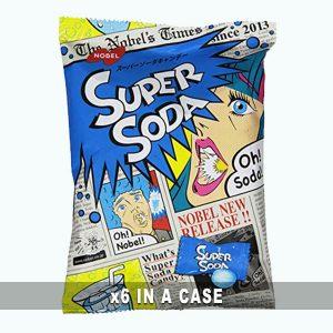 Nobel Super Soda Candy 6 in a case