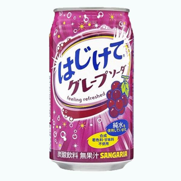 Sangaria Hajikete Grape Soda