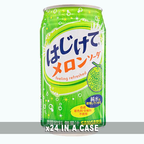 Sangaria Hajikete Melon Soda 24 in a case