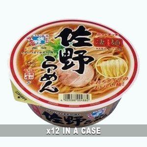Sano Cup Ramen 12 in a case