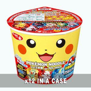 Sanyo Pokemon Noodles Soy Sauce 12 in a case