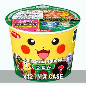 Sanyo Pokemon Noodles Udon 12 in a case