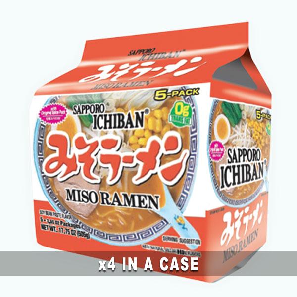 Sanyo Sapporo Miso Ramen 4 in a case