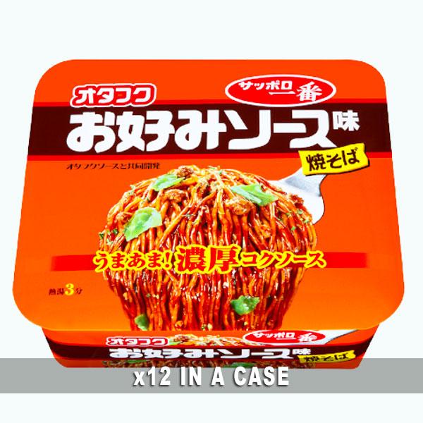 Sanyo Yakisoba Okonomi Sauce 12 in a case