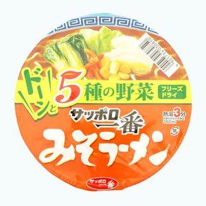 Sapporo Ichi Ban Miso Ramen