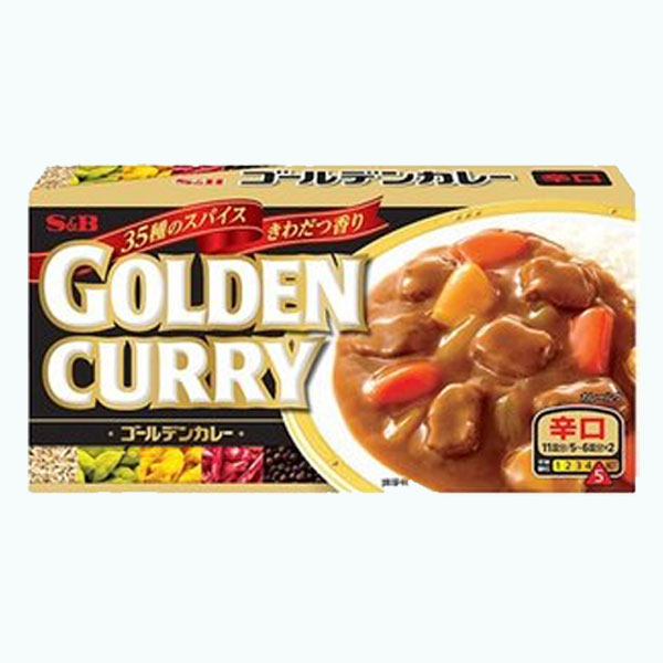 S&B Golden Curry Spicy