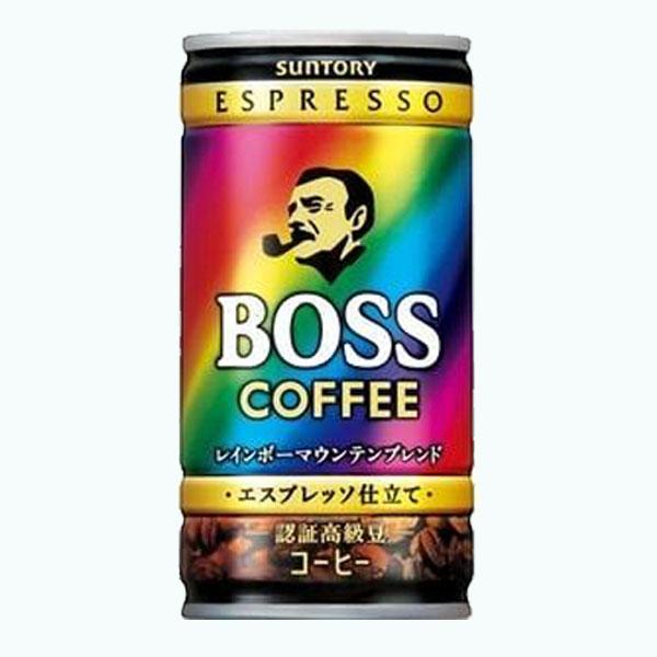 Suntory Espresso Boss Rainbow
