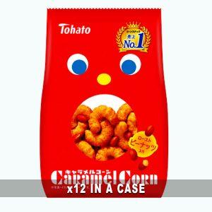 Tohato Caramel Corn Peanuts 12 in a case