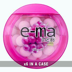 UHA E-ma Candy Grape 6 in a case