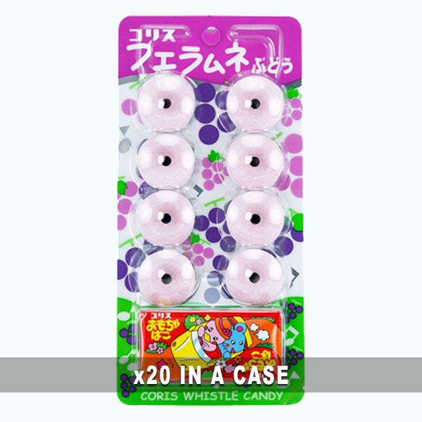 Whistle Candy Ramune Grape 20 in a case