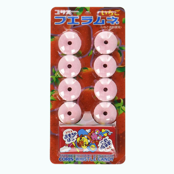 Whistle Candy Ramune Strawberry