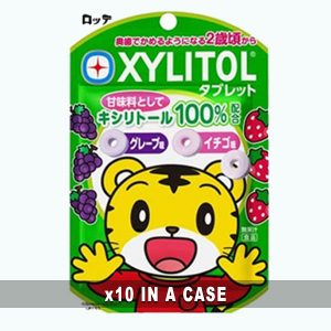 Xylitol Tablet Grape Strawberry 10 in a case
