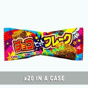 Yaokin Crispy Chocolate Flake 20 in a case