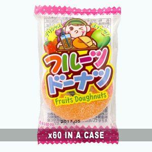 Yaokin Fruits Doughnuts 60 in a case